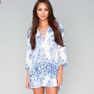 Dresses & Skirts - Show me your mumu ryan's sea crest lulu tunic